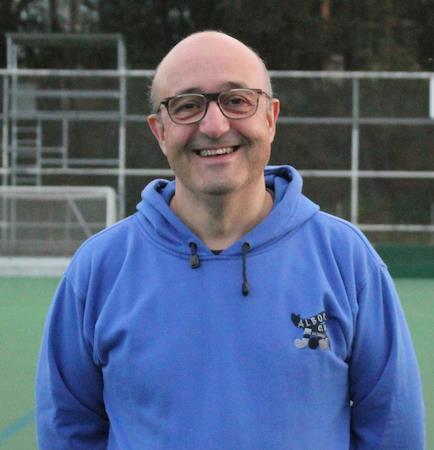 José Aníbal Gamallo Blanco, Presidente del Club Hockey Albor