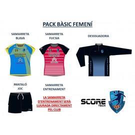 Pack basico femenino