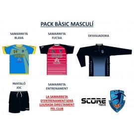 Pack basico masculino