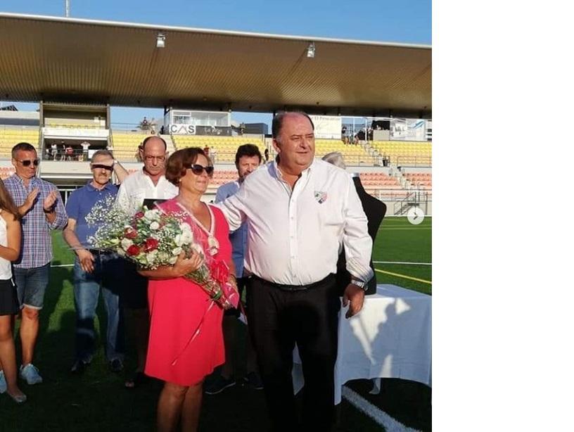 Imagen Presidente y esposa Calos Vinuesa