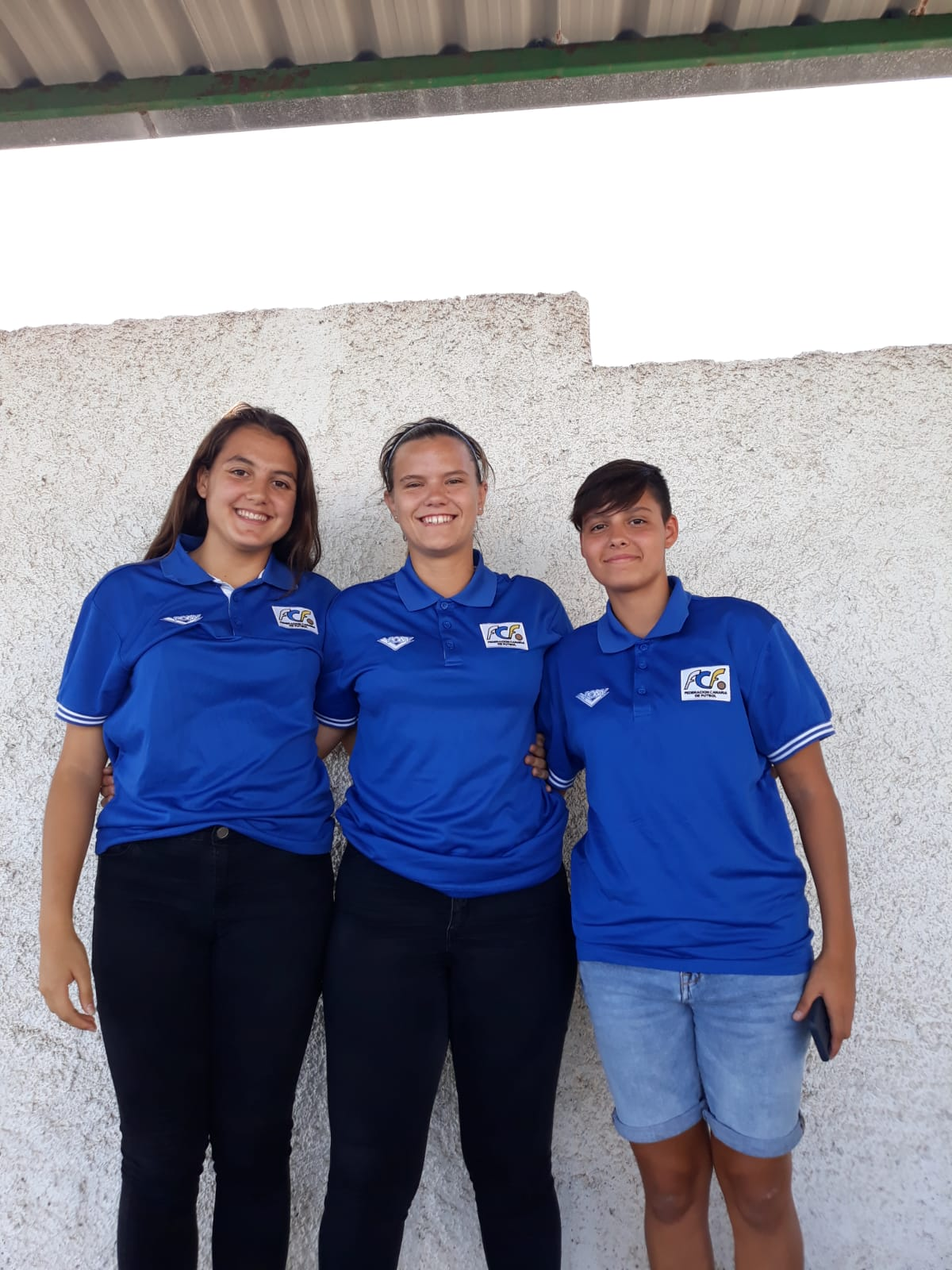 De Izquierda a derecha: Paola Olivera Rodríguez, Evelyn Bolaños Durán y Mirian Pérez Guzmán