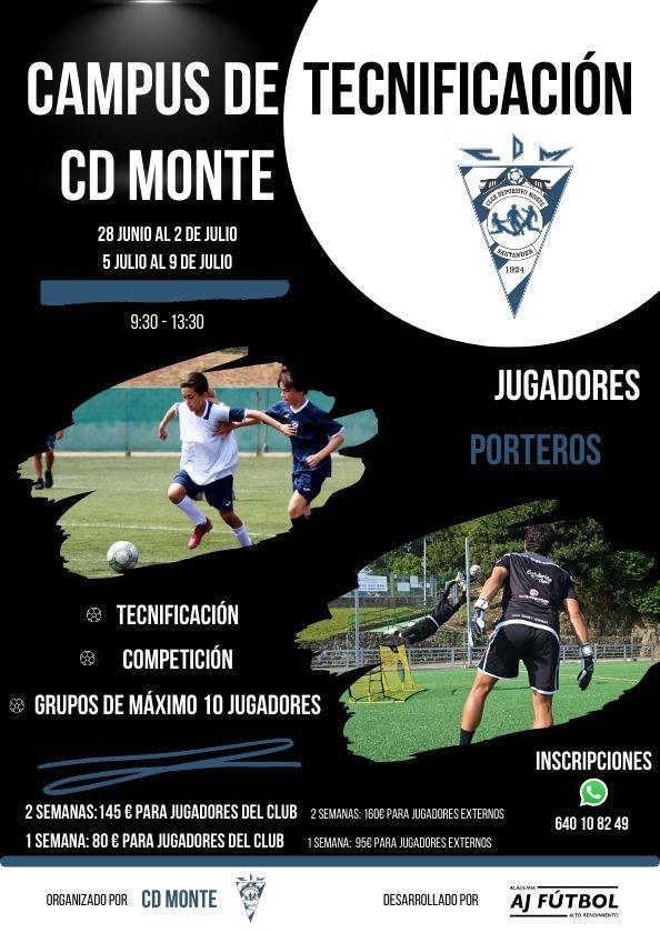 Campus Tecnificación CD Monte (AJ Fútbol)