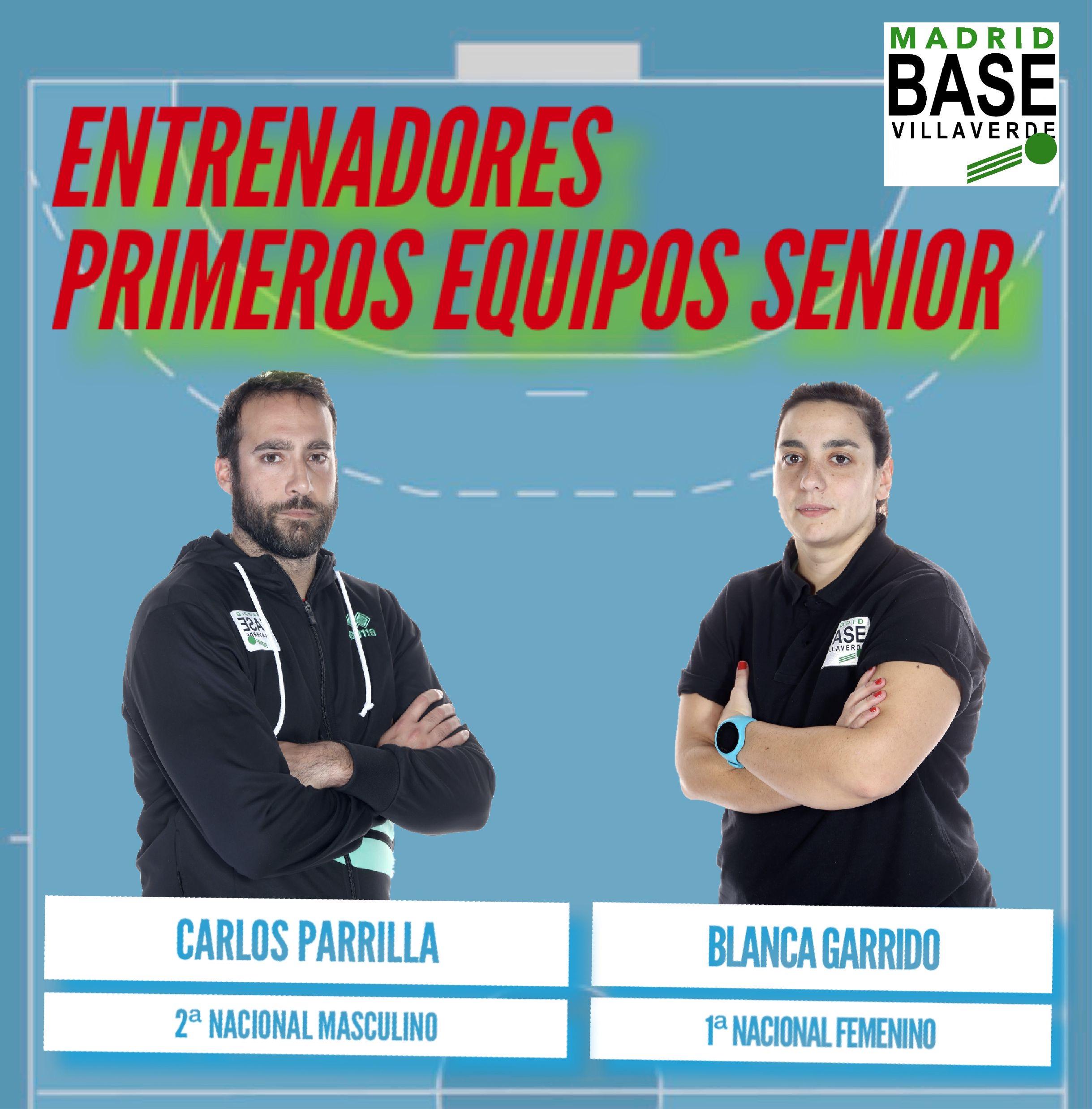 Entrenadores de los primeros equipos senior.