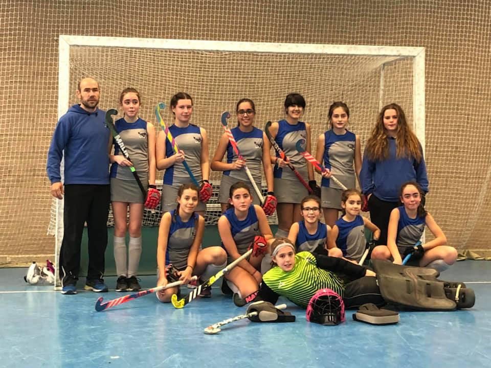 El equipo cadete femenino acude a la fase de sector del Cto. de España de hockey sala