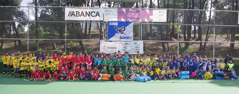 2º Torneo de Outono hockey base. Éxito de participación y gran jornada del hockey gallego