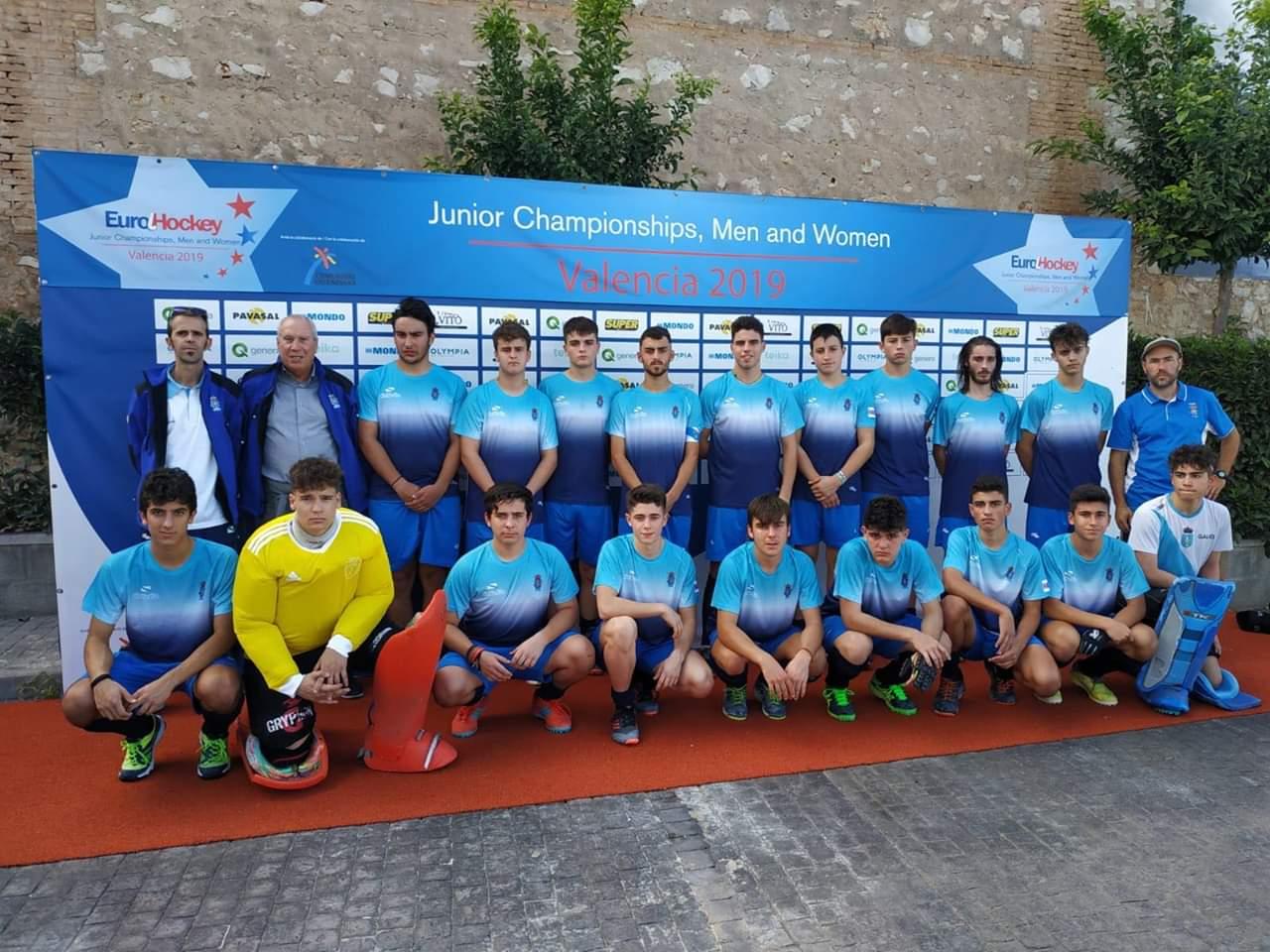 8 jugadores con la seleccion gallega sub18
