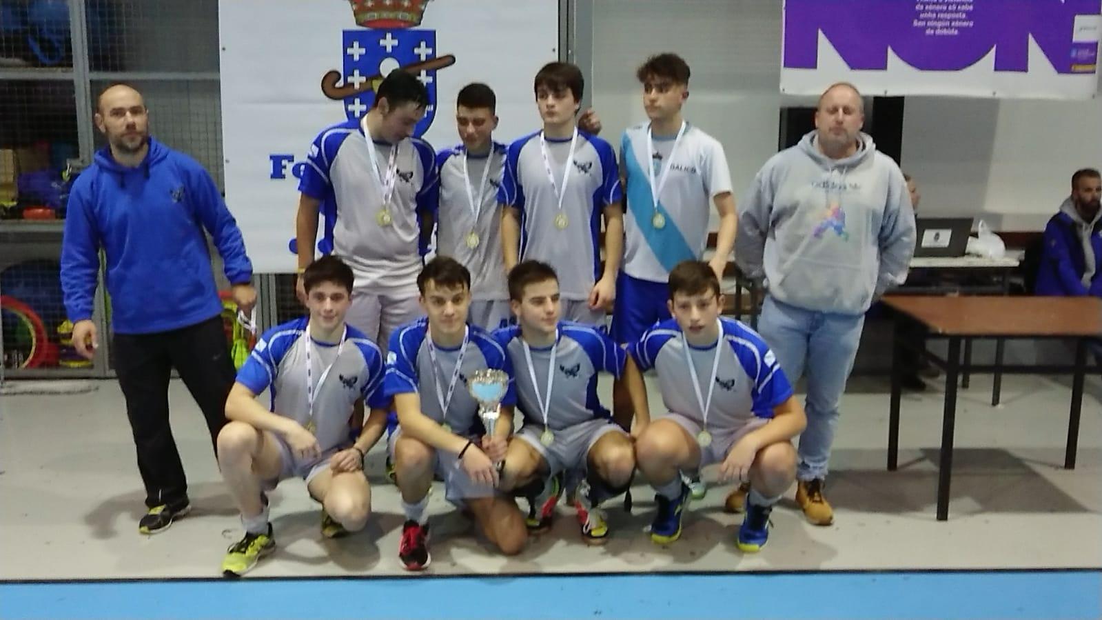 sdsLos juveniles... Campeones gallegos de sala¡¡¡