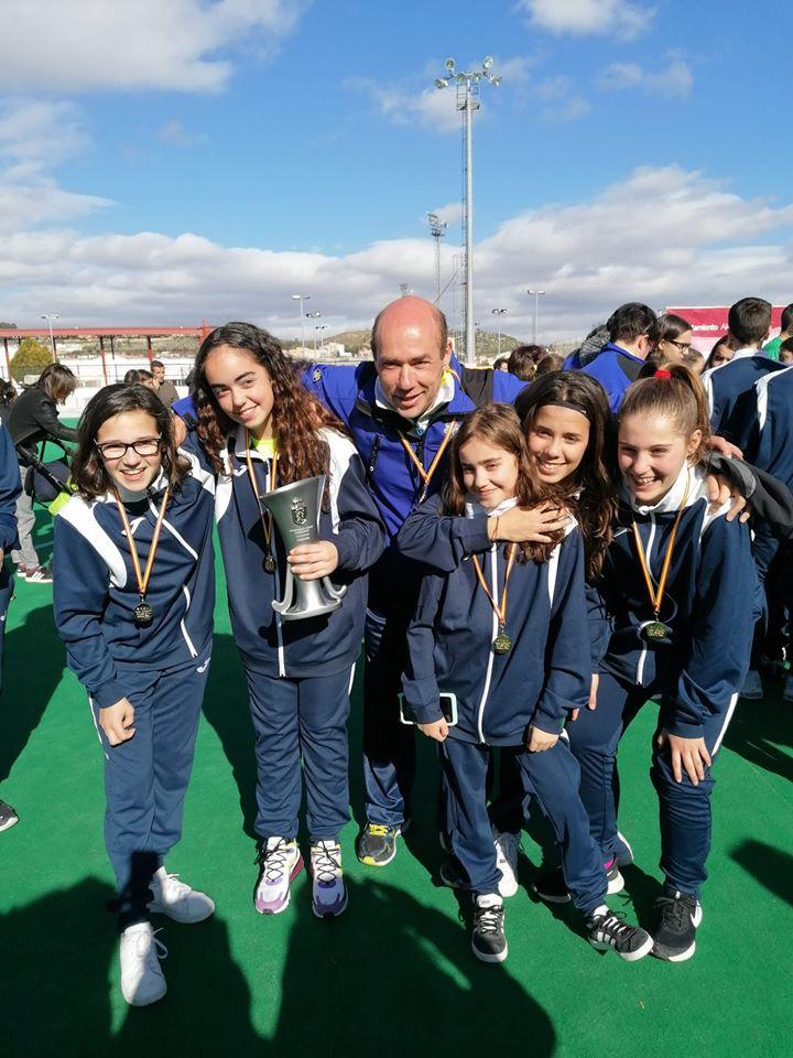 La seleccion gallega sub14 femenina... Campeona de España¡¡¡¡
