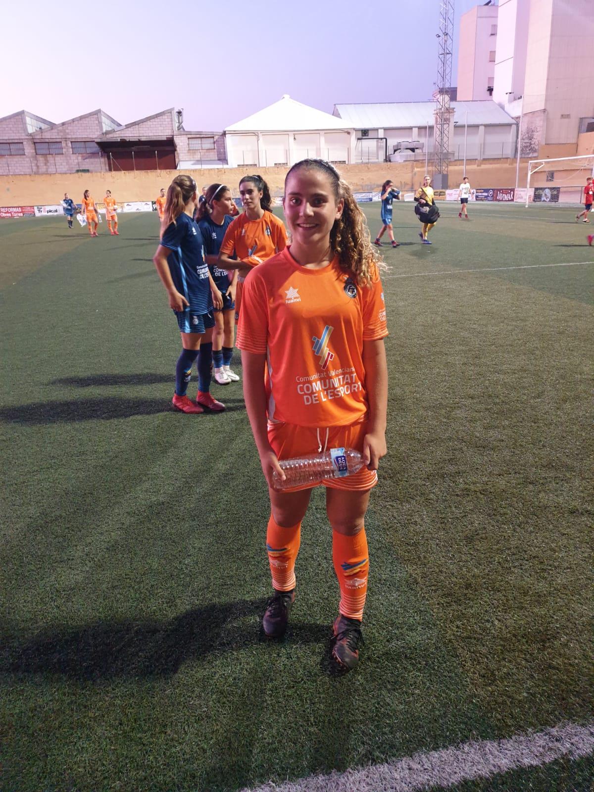 Lucía Cánoves, de nuevo con la Sub 17 valenciana
