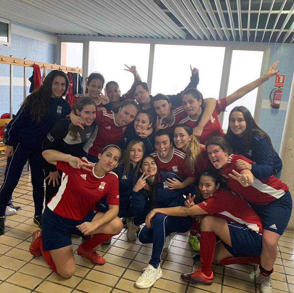 sdsEl Femenino B gana la liga y asciende a Primera regional