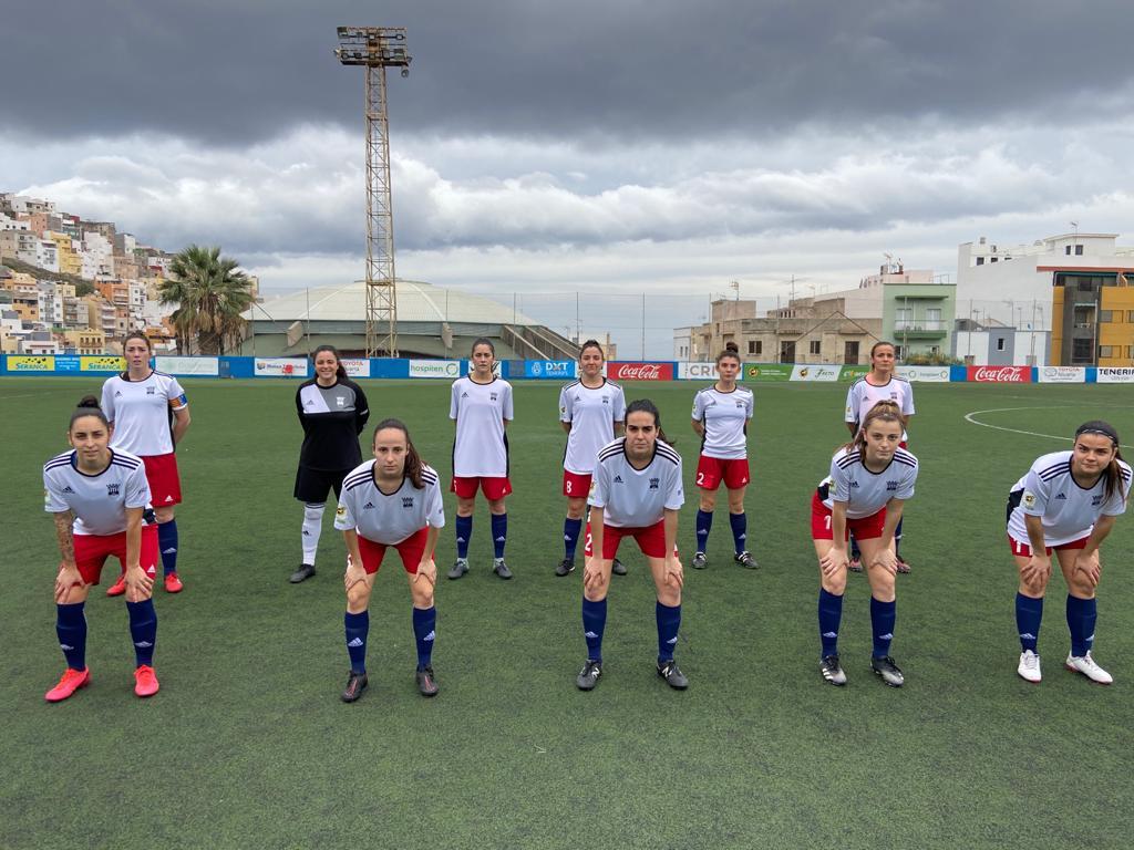 Femenino A consigue una victoria importante en el campo del 2º clasificado Union Tenerife Tacuense