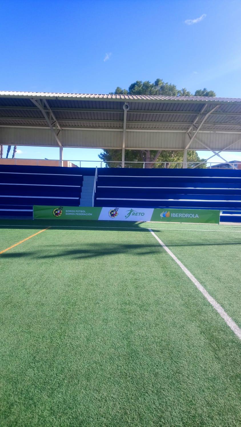 sdsEl ayuntamiento de Aldaia mejora las instalaciones deportivas durante el parón por covid-19