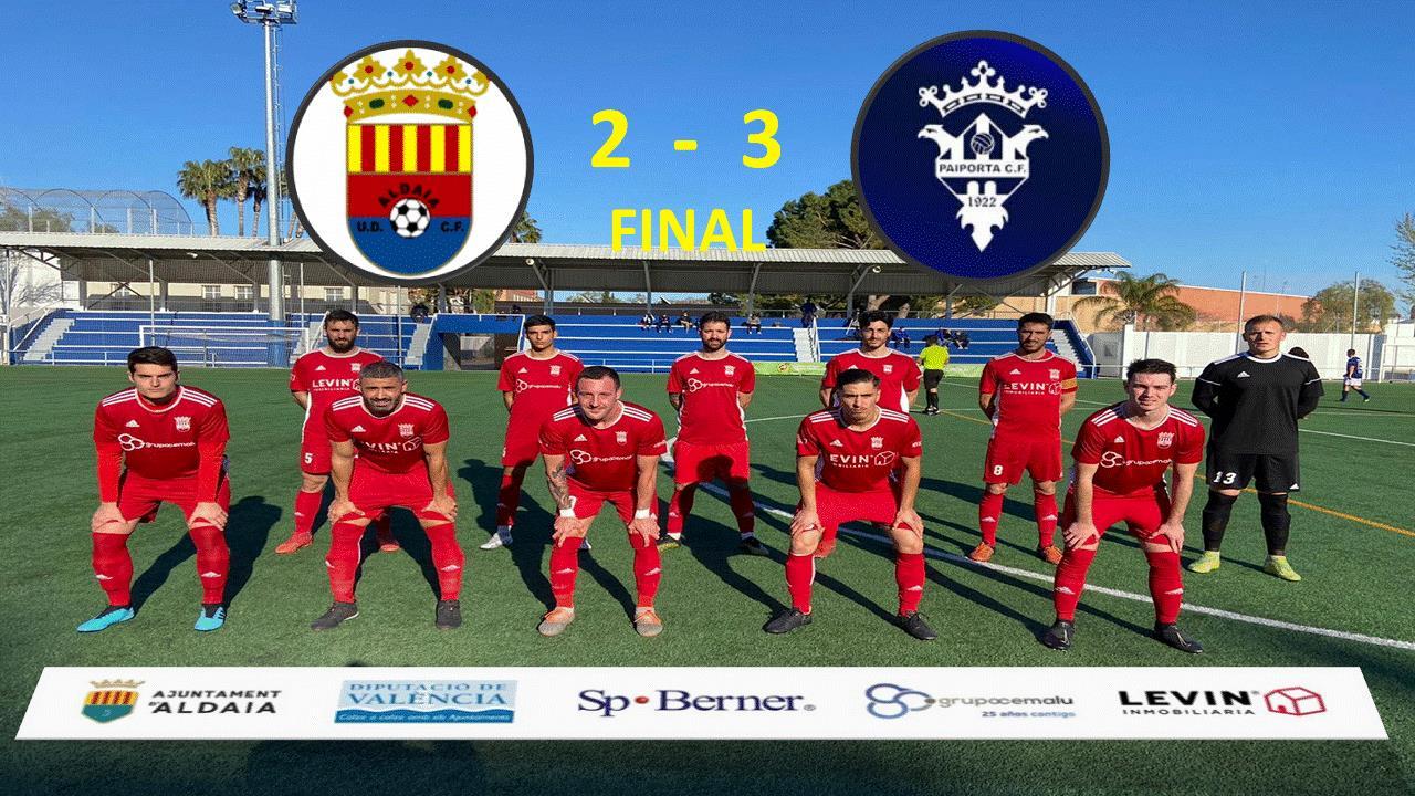 Nuestro Amateur A cae derrotado en casa 2-3 frente al Paiporta CF.