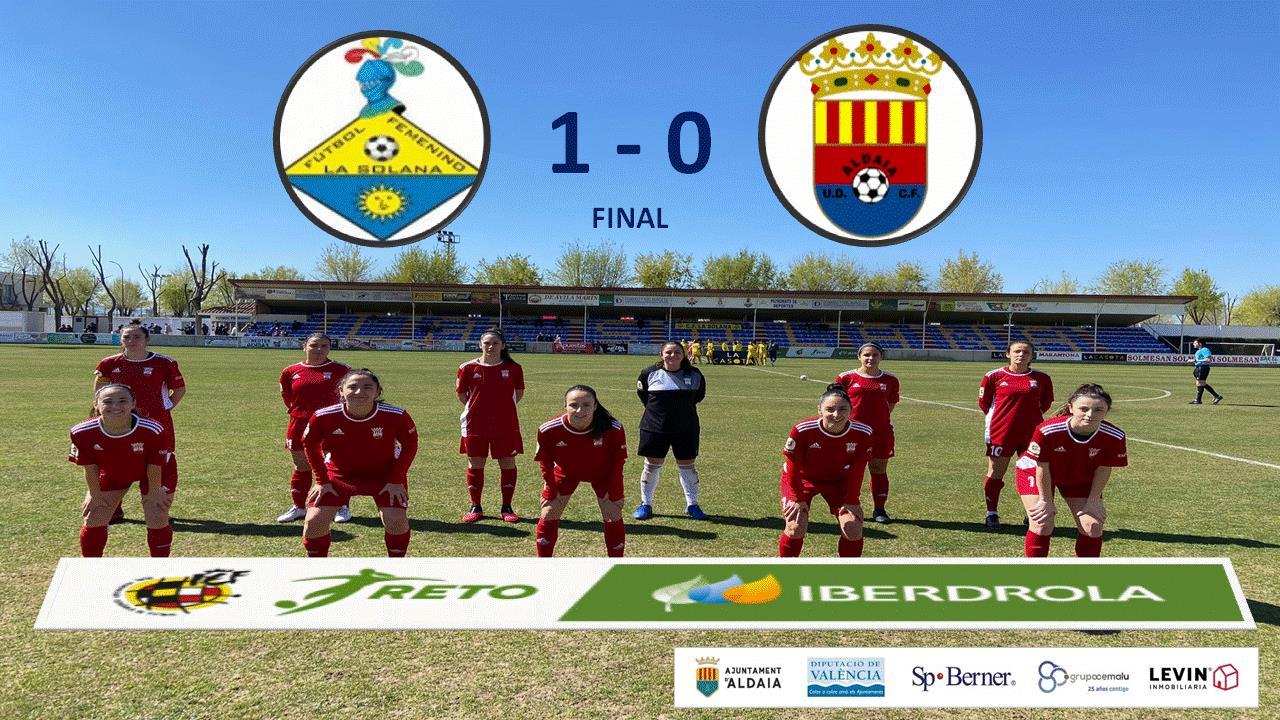 Primera derrota de nuestro Femenino A en el arranque de esta 2ª Fase de la Liga Reto Iberdrola.