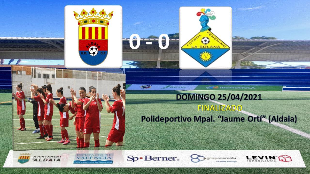 Empate sin goles frente a la FF La Solana.