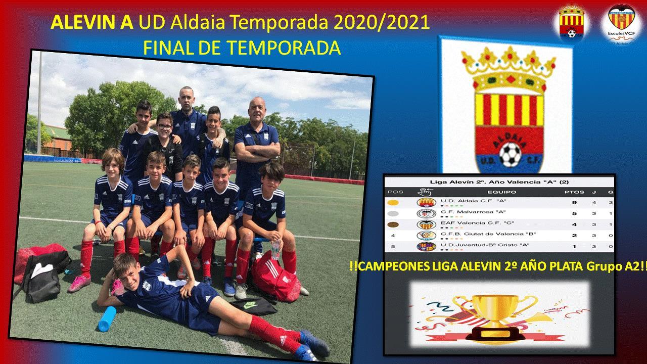 FINAL DE TEMPORADA 2020/2021 PARA NUESTRO ALEVIN A
