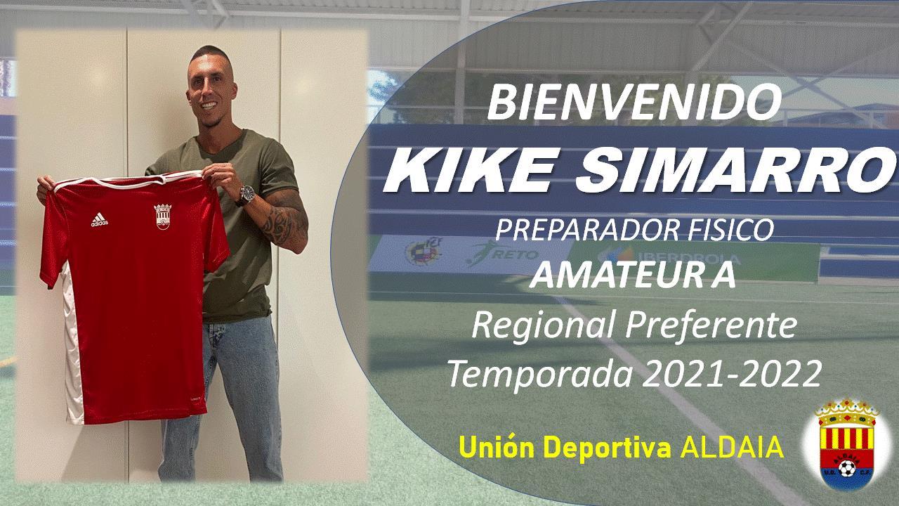 La UD Aldaia firma a Kike Simarro como Preparador Físico.