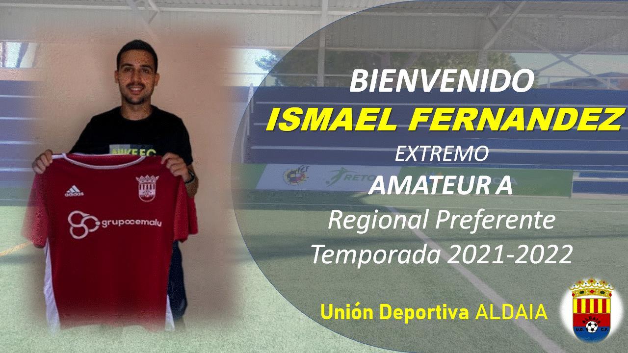 La UD Aldaia firma al extremo Ismael Fernández.