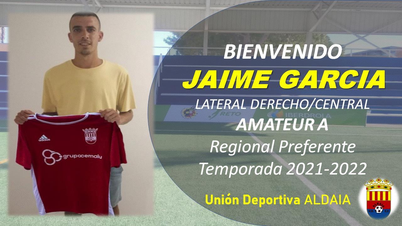 La UD Aldaia firma al defensa Jaime García.