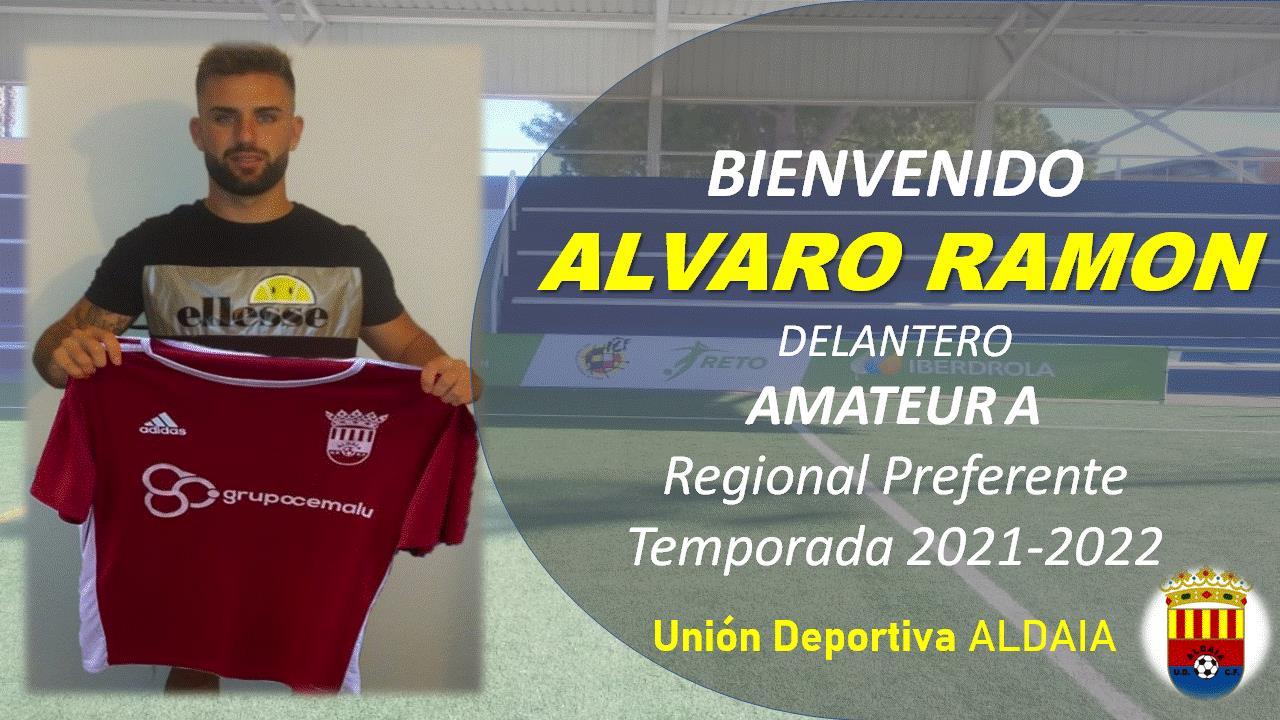 La UD Aldaia llega a un acuerdo con al delantero Alvaro Ramón.