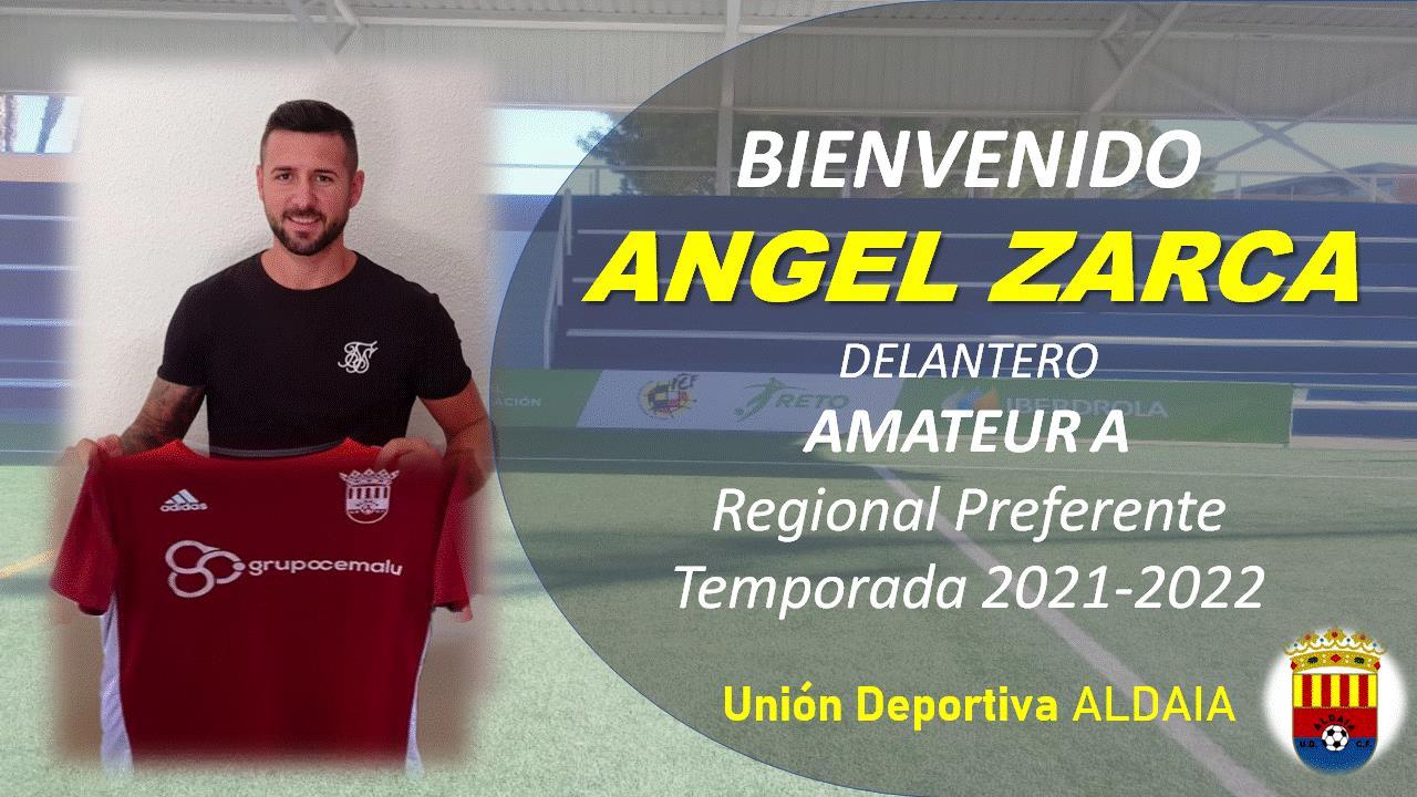 El delantero Angel Zarca firma por la UD Aldaia.