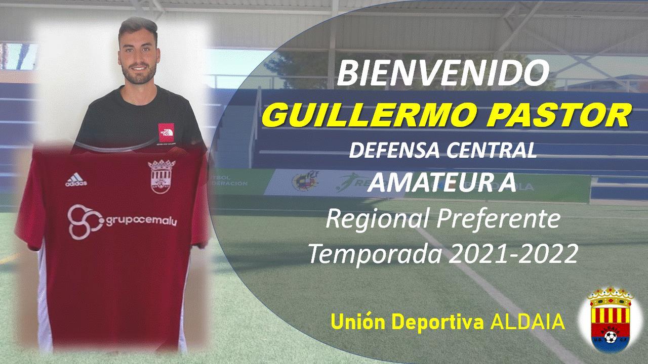 El defensa central Guillermo Pastor