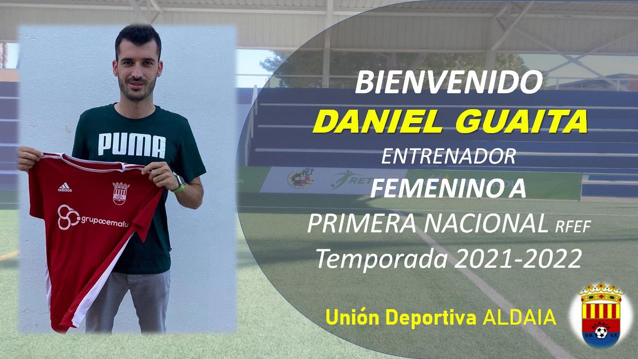 Dani Guaita nuevo Entrenador del Femenino A de la UD Aldaia.