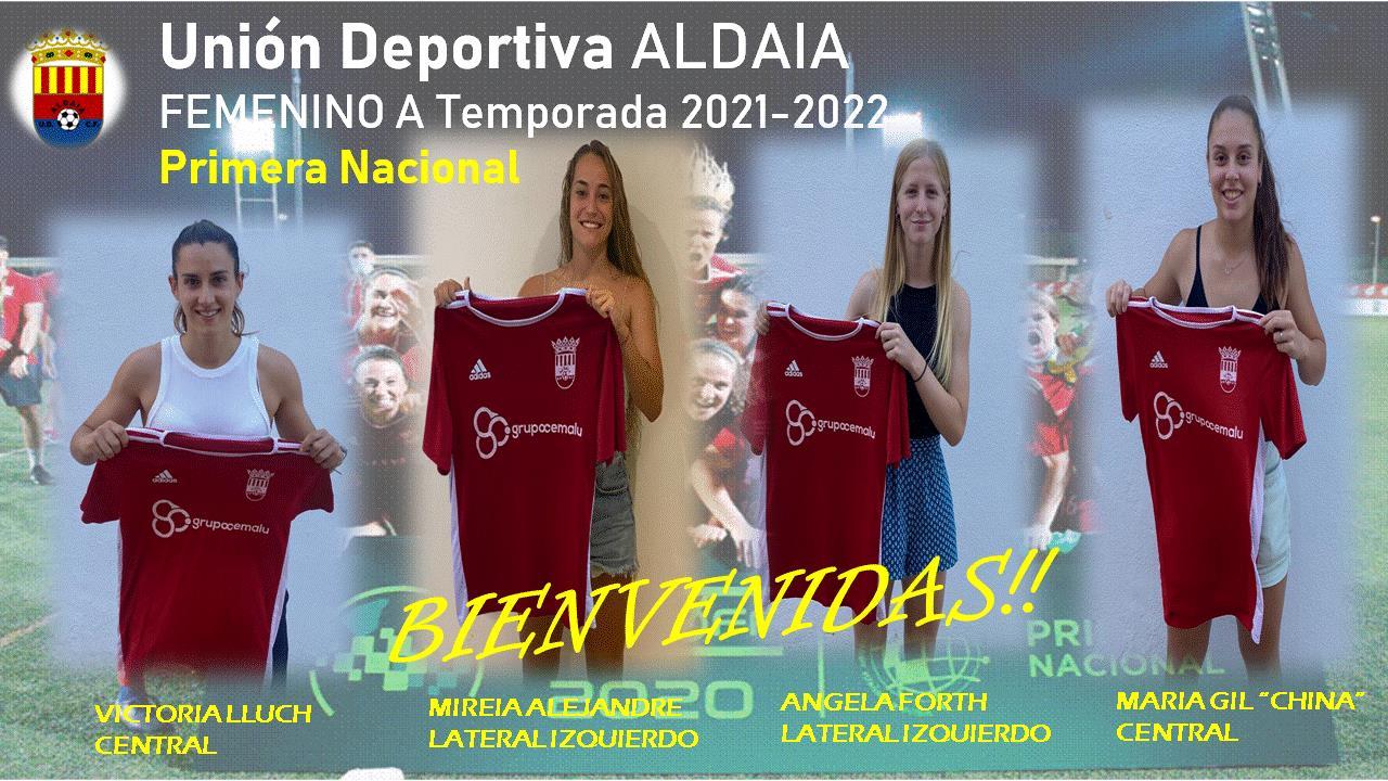 Nuevos fichajes para el Femenino A de la UD Aldaia.