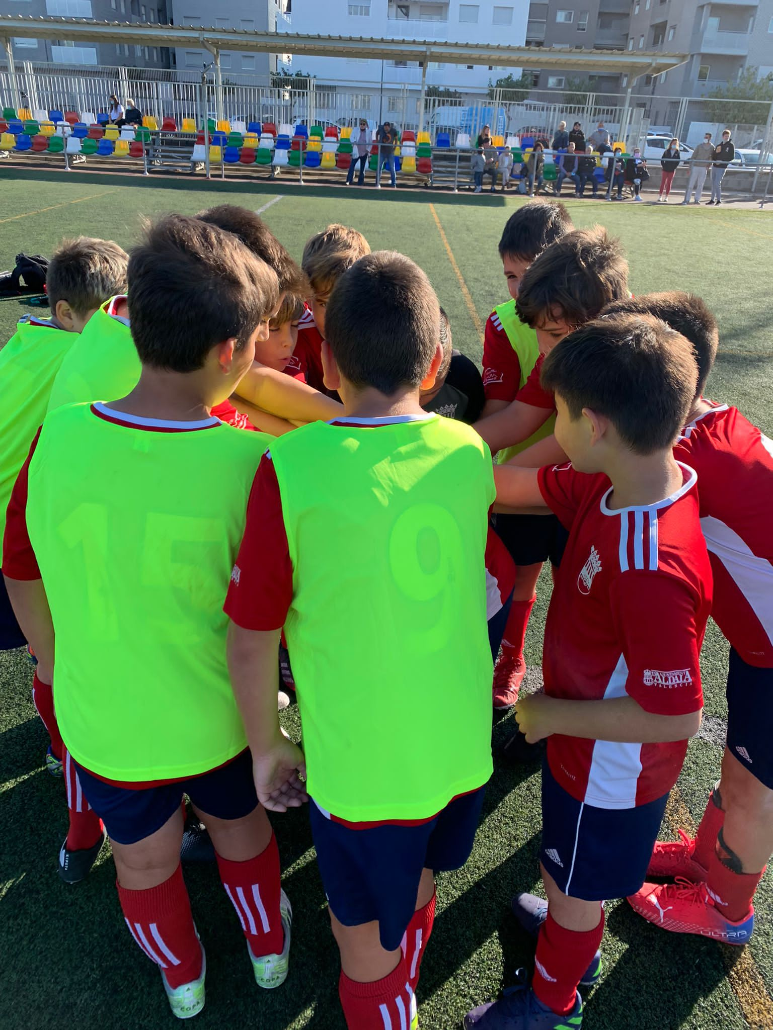 Fotos partidos equipos Escuela Fin de Semana 23-24 de Octubre.