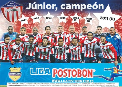 Junior campeon 2011