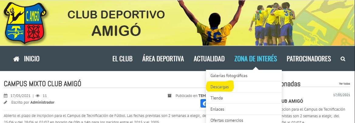 CAMPUS MIXTO CLUB AMIGÓ
