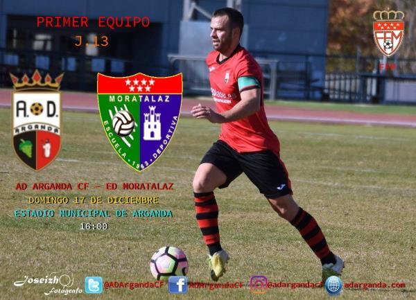 Primer equipo | AD Arganda CF - ED Moratalaz