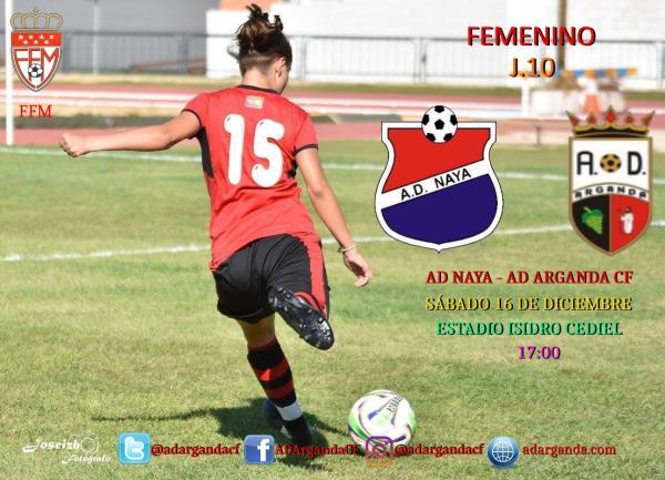 Femenino | AD Naya - AD Arganda CF