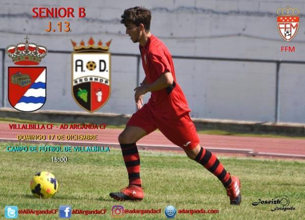 Senior B | Villalbilla CF - AD Arganda CF
