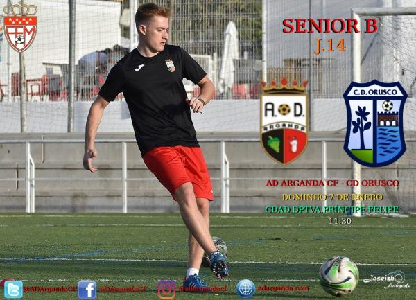 Senior B | AD Arganda CF - CD Orusco