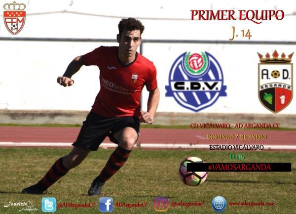 Primer Equipo | CD Vicálvaro - AD Arganda CF