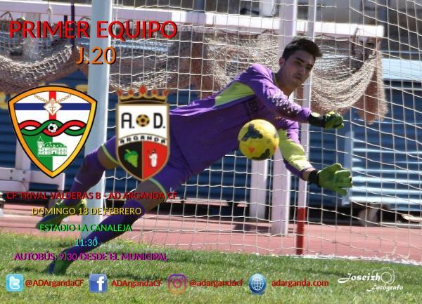 Primer Equipo | CF Trival Valderas B - AD Arganda CF