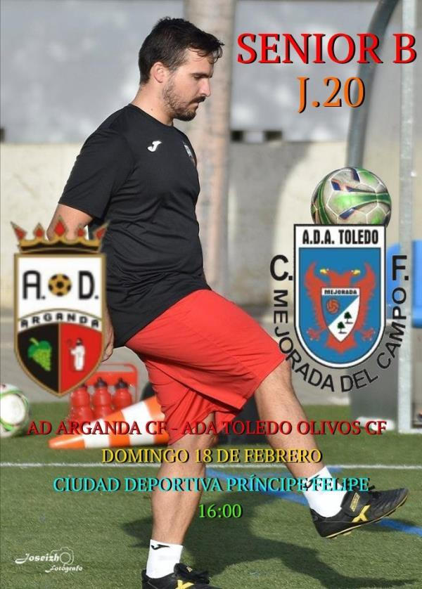 Senior B | AD Arganda CF - ADA Toledo Olivos CF