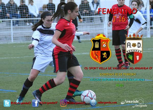 Femenino | CD Sport Villa de Vallecas - AD Arganda CF