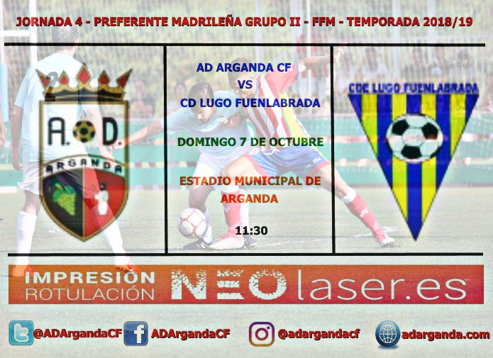 J.4. | AD Arganda CF - CD Lugo Fuenlabrada