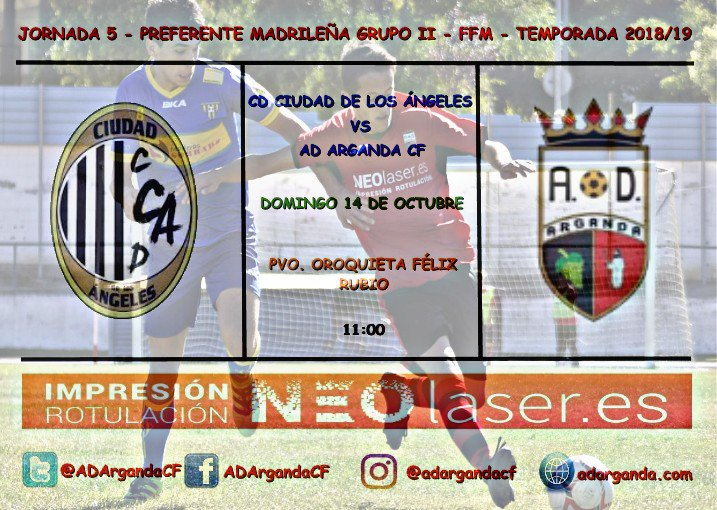 J.5. | CD Ciudad de los Ángeles - AD Arganda CF