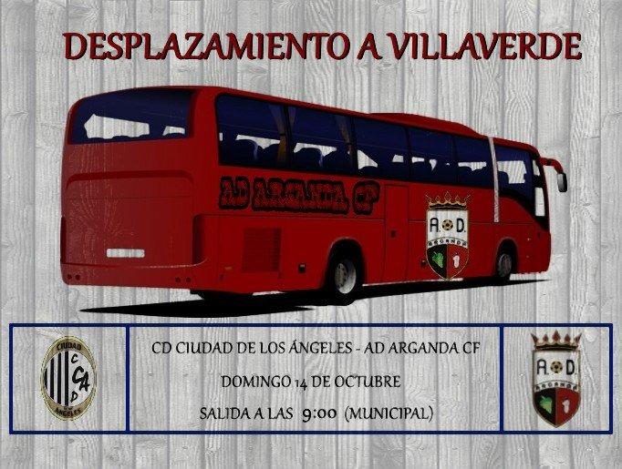 Desplazamiento a Villaverde