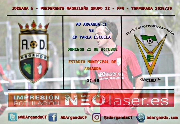 J.6   AD Arganda CF - CP Parla Escuela