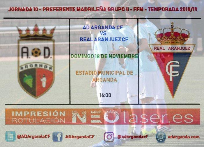 J.10. |AD Arganda CF - Real Aranjuez CF