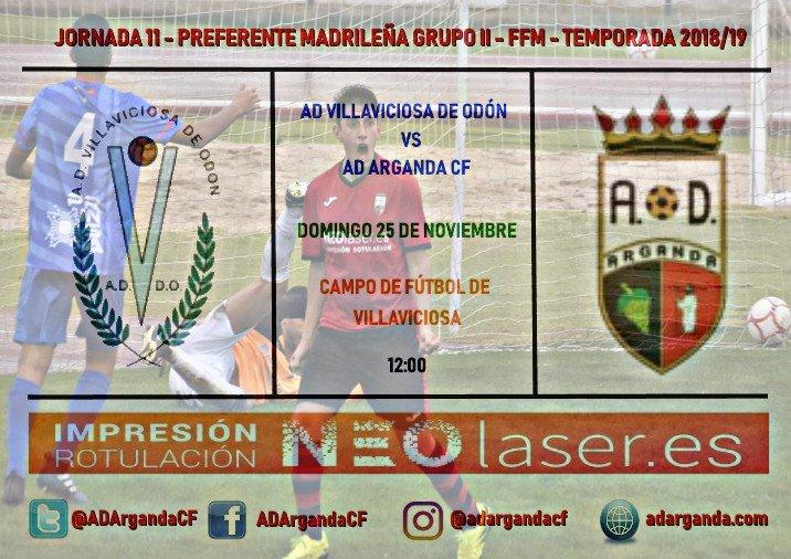J.11 | AD Villaviciosa - AD Arganda CF