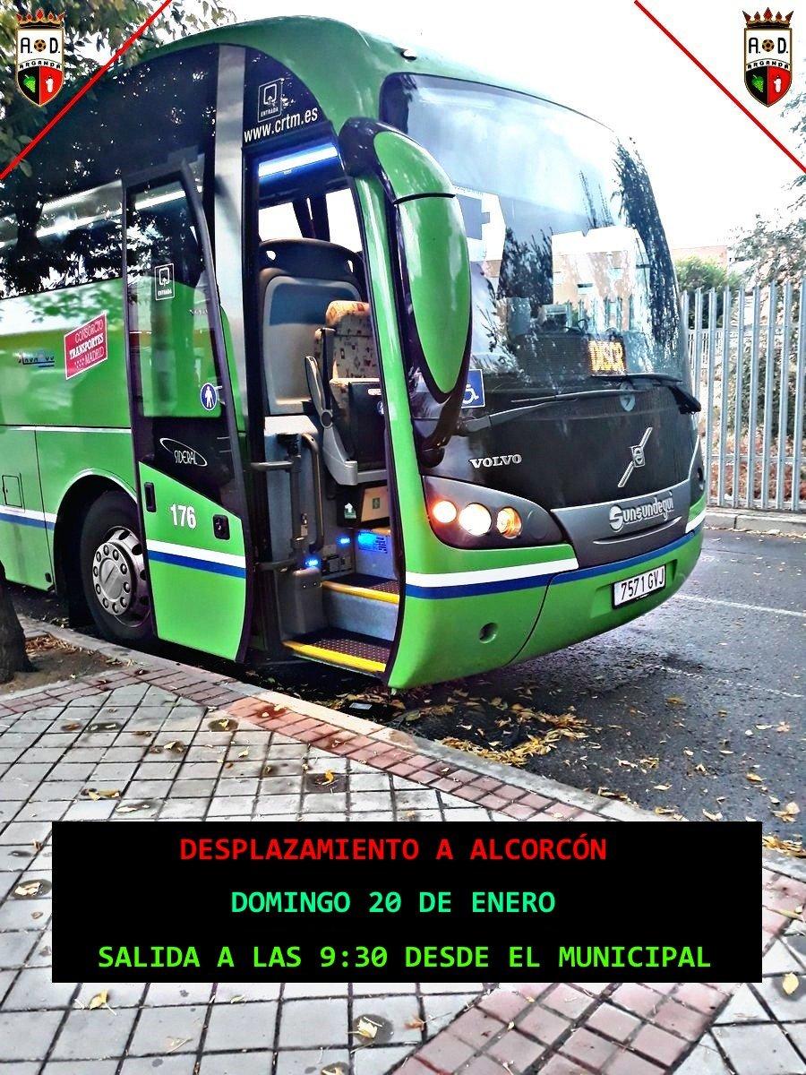 Desplazamiento a Alcorcón