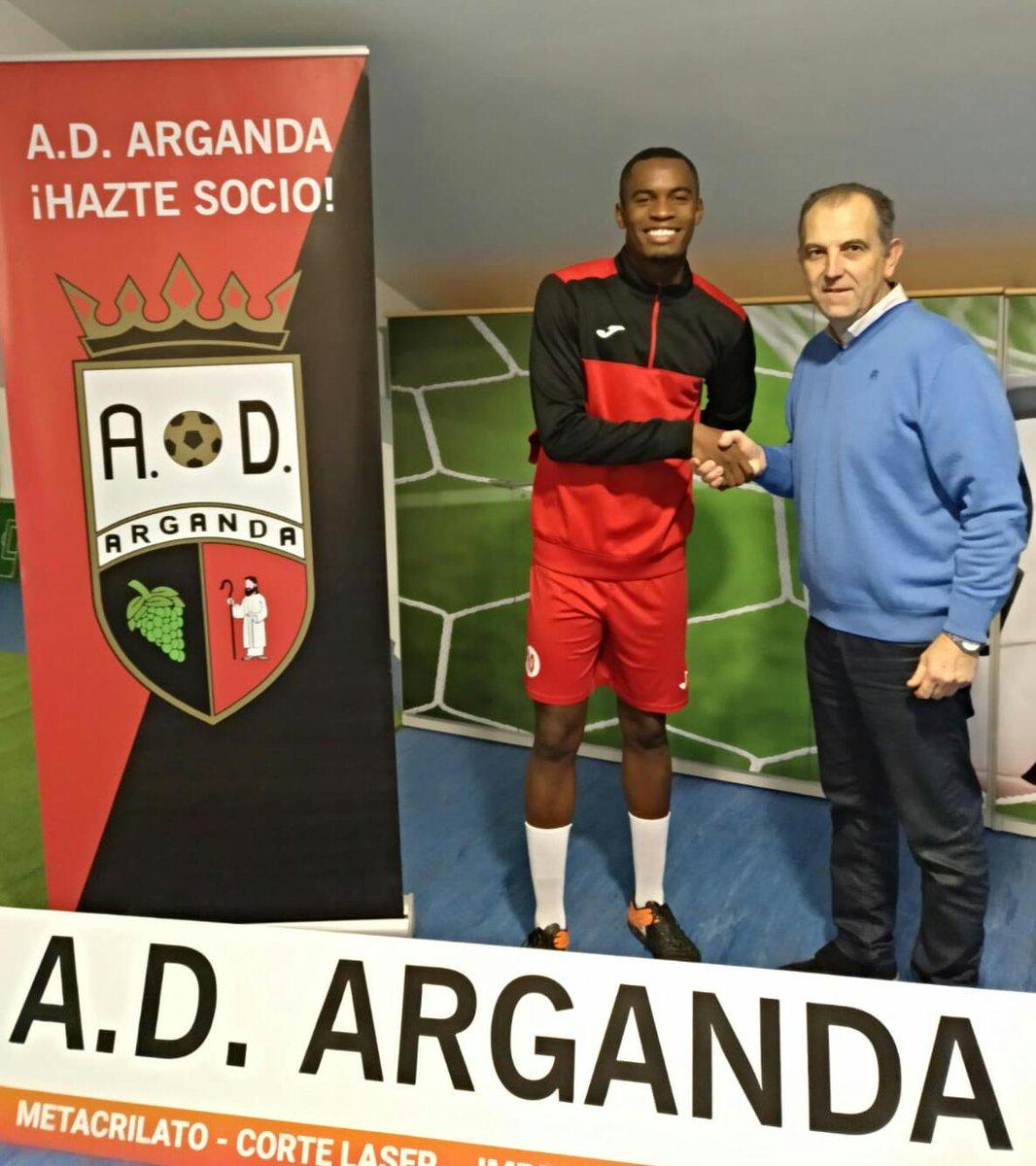 Camilo, nuevo jugador de la AD Arganda CF