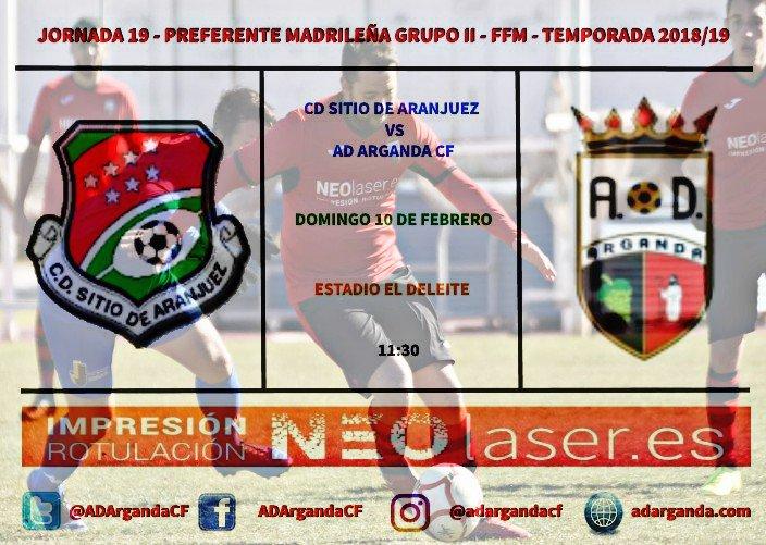 J.19 | CD Sitio de Aranjuez - AD Arganda CF