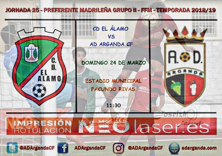 J. 25| CD El Álamo - AD Arganda CF