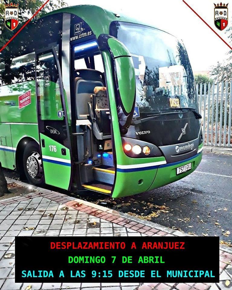 Desplazamiento a Aranjuez